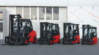 Carretillas eléctricas de Linde Material Handling con eje compacto de tracción
