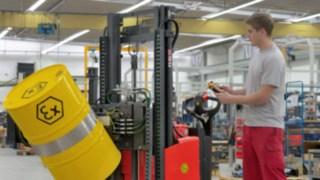 Carretillas ATEX de Linde Material Handling con construcción antideflagrante
